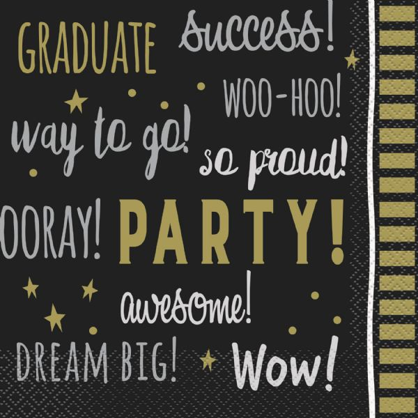 You Did It! Graduation Paper Napkins (16pk)
